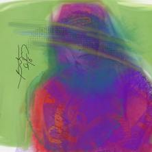 Untitled. Done on Tayasui Sketches via Ipad Air 2, August 2016, copyright Paul Corpus.